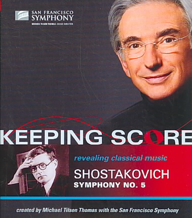 KEEPING SCORE:SHOSTAKOVICH SYM NO 5 BY SAN FRANCISCO SYMPHO (Blu-Ray)